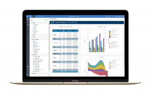 Business Intelligence Solutions – IBM Cognos Analytics – Active Report Dashboard